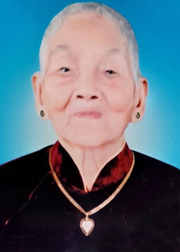 Bà mẹ Việt Nam Anh hùng CAO THỊ NGHỊ từ trần