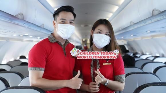 Vietjet lan toả niềm vui bằng hoạt động đặc biệt nhân ngày Quốc tế Thiếu nhi ảnh 1