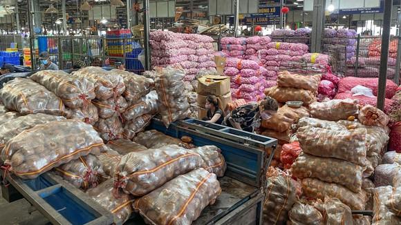 Vận chuyển hàng nông sản từ các tỉnh vào TPHCM: Không bị ách tắc, ùn ứ ảnh 1