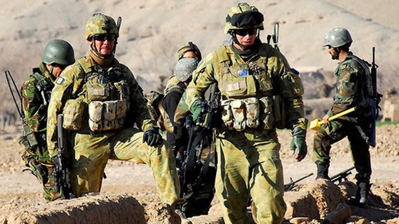 Binh sỹ Australia tại Afghanistan. Nguồn: isaf.nato.int