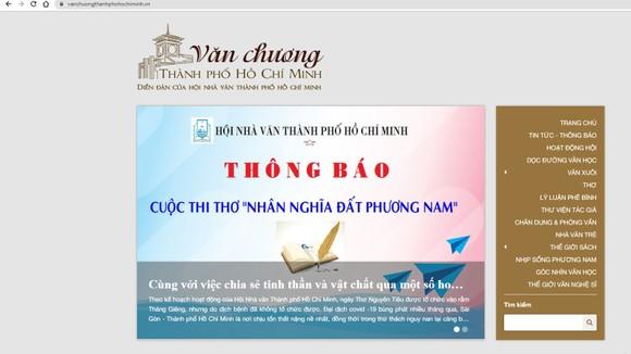 Hội Nhà văn TPHCM ra mắt website mới