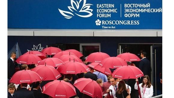 Diễn đàn Kinh tế Phương Đông 2021 (EEF), diễn ra tại Vladivostok, Liên bang Nga. Nguồn: TASS