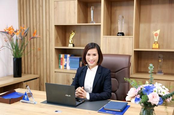 Nữ Chủ tịch 8X của Ngân hàng Quốc dân. Ảnh: NCB