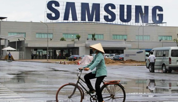 A Samsung Electronics plant in Bac Ninh Province, northern Vietnam