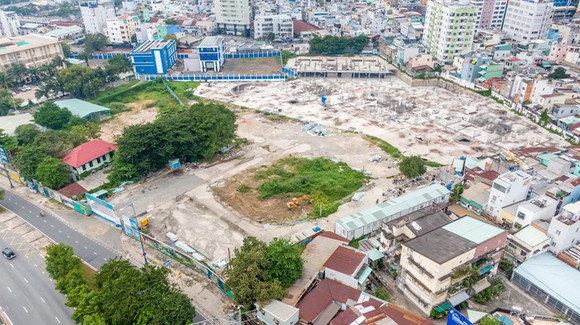 The HCMC People's Committee has just revived the project at 628-630 Vo Van Kiet.