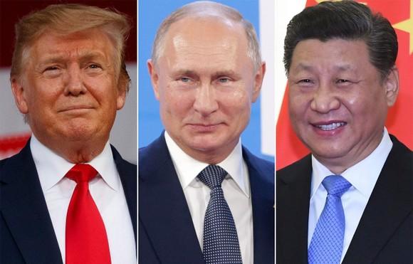 Theo báo Finacial Times, Mỹ đang tìm cách lôi kéo Nga để đối phó với Trung Quốc. (Nguồn: AP)