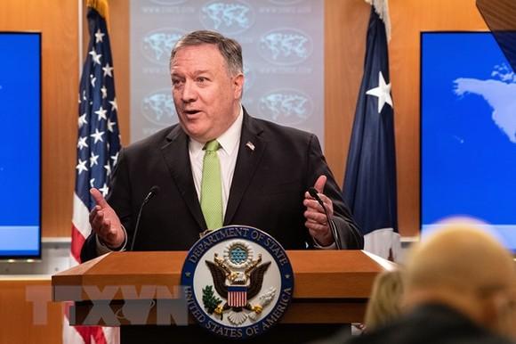 Ngoại trưởng Mỹ Mike Pompeo. (Ảnh: AFP/TTXVN)