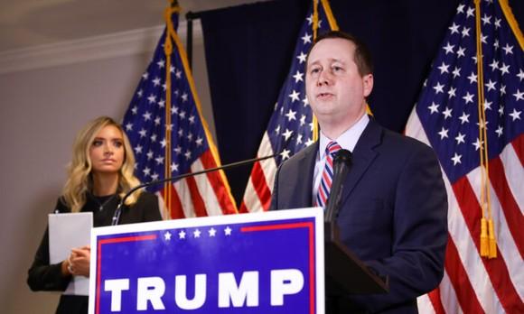 Matt Morgan, cố vấn chung cho chiến dịch tái đắc cử của Tổng thống Trump.
