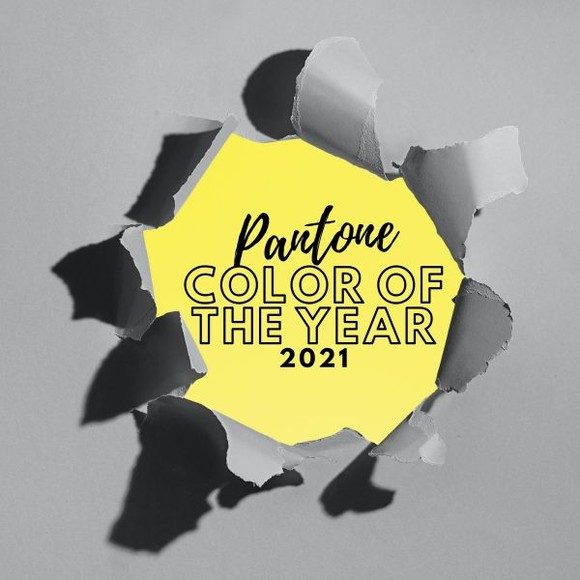 The Pantone Color Institute has just announced the two main colors for 2021, namely, grey and yellow.