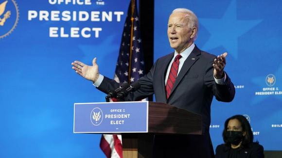 Tổng thống đắc cử Mỹ Joe Biden. Ảnh: CNN