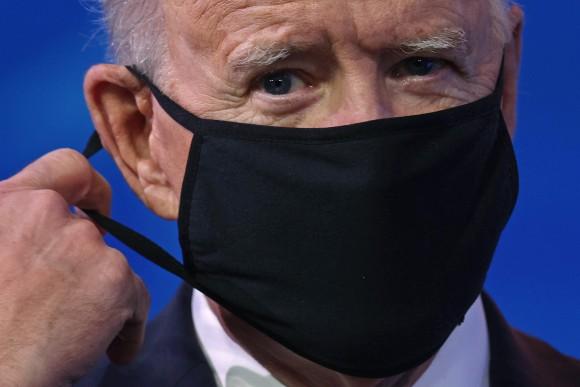 Ông Biden sẽ gặp nhiều khó khăn trong cuộc chiến chống COVID-19. Ảnh: Getty Images