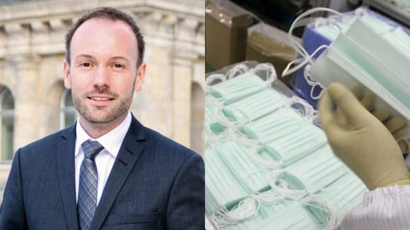 """Nikolas Löbel bị tố đã """"bỏ túi"""" 298.000 USD từ việc môi giới các hợp đồng mua khẩu trang Trung Quốc. Ảnh: Reuters"""