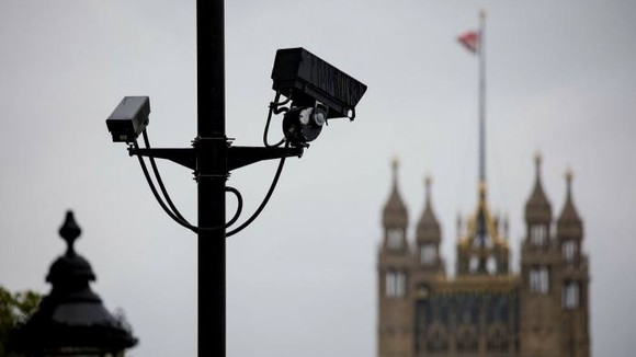 Surveillance technology such as CCTV is widely used across the UK as well as China © Tolga Akmen/AFP/Getty