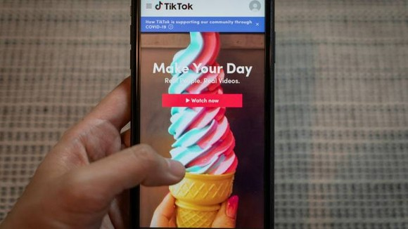 Plaintiffs claim TikTok collects children's private information such as phone numbers, pictures, videos and biometric data, and transfers this information to unknown third parties for profit © Bloomberg