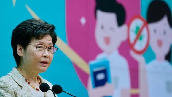 Đặc khu trưởng Hồng Kông Carrie Lam.
