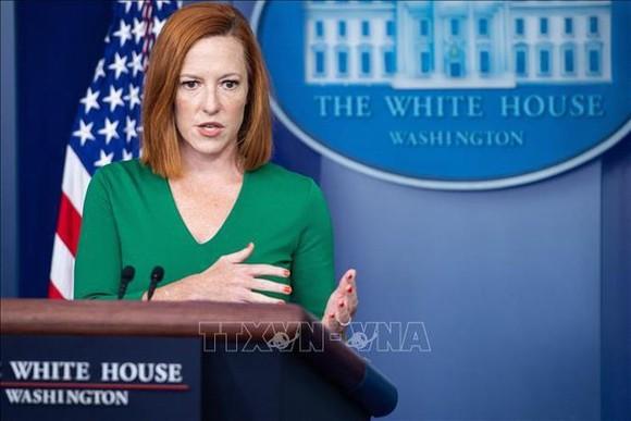 Thư ký báo chí Nhà Trắng Jen Psaki. Ảnh: AFP/TTXVN