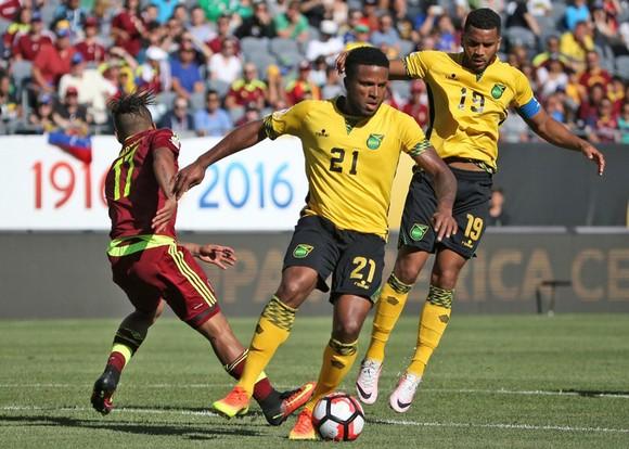 Jamaica (21) khó tìm kiếm chiến thắng trước Curacao.