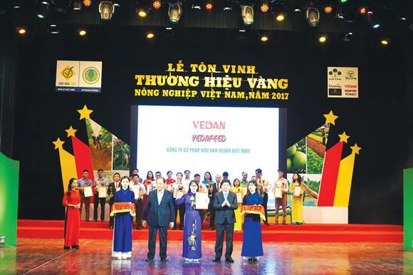 Sản phẩm của Vedan đạt  Thương hiệu vàng nông nghiệp Việt Nam 2017 ảnh 1