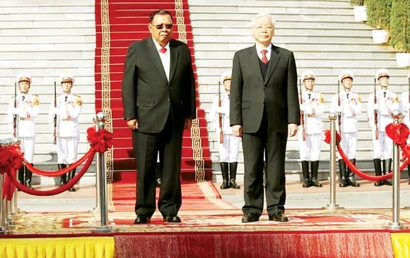 Thúc đẩy quan hệ hai nước Việt Nam - Lào  lên tầm cao mới ảnh 1