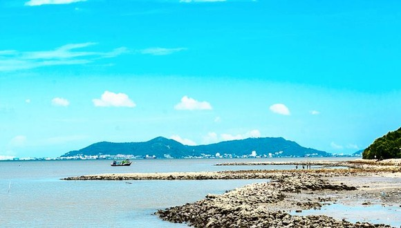 Bãi biển Cần Giờ, TPHCM Ảnh: Phan Lê