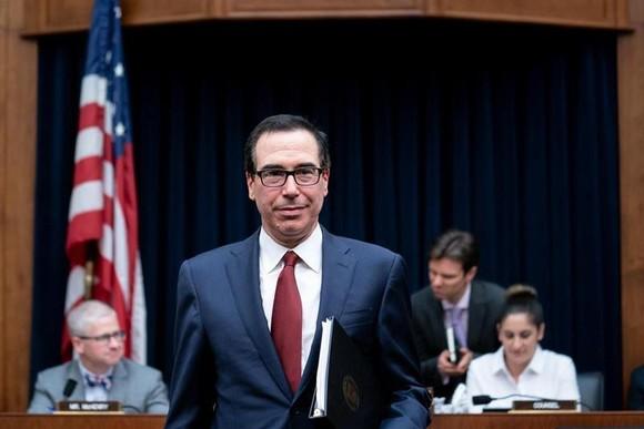 Bộ trưởng Tài chính Mỹ Steven Mnuchin. (Nguồn: The New York Times)