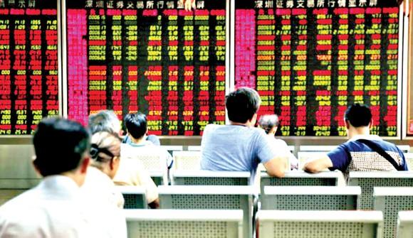 TTCK Thượng Hải đỏ rực trong phiên giao dịch ngày 26-6