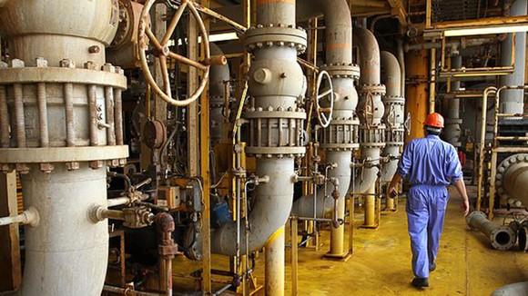 Một nhà máy lọc dầu ở Đông Nam Iran