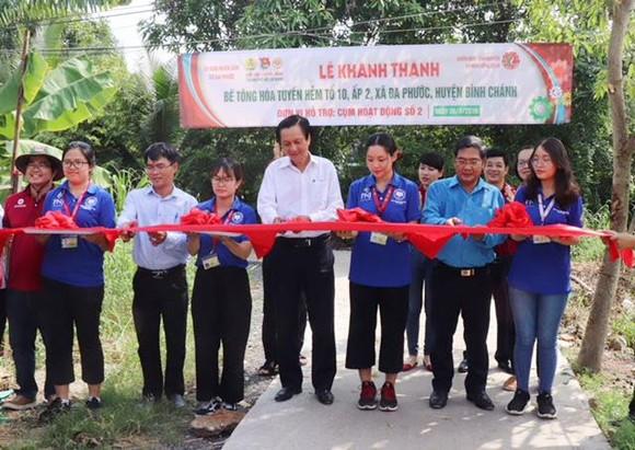 Khánh thành tuyến hẻm tại xã Đa Phước
