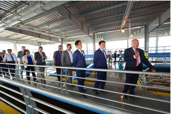 Shark Liên khánh thành Nhà máy nước chất lượng châu Âu, quy mô lớn nhất miền Bắc ảnh 2
