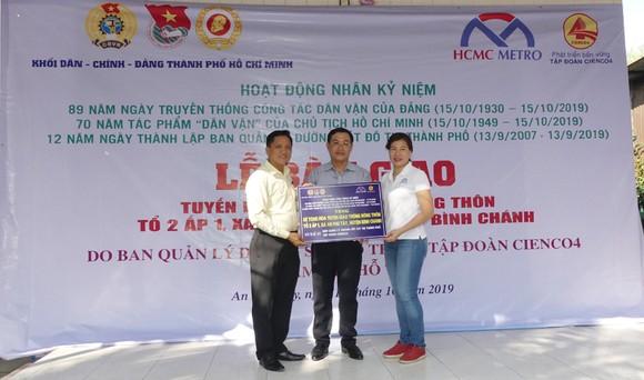 Khánh thành tuyến hẻm giao thông nông thôn tại huyện Bình Chánh ảnh 2