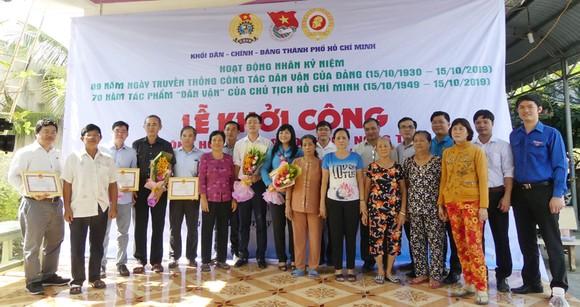 Khánh thành tuyến hẻm giao thông nông thôn tại huyện Bình Chánh ảnh 3