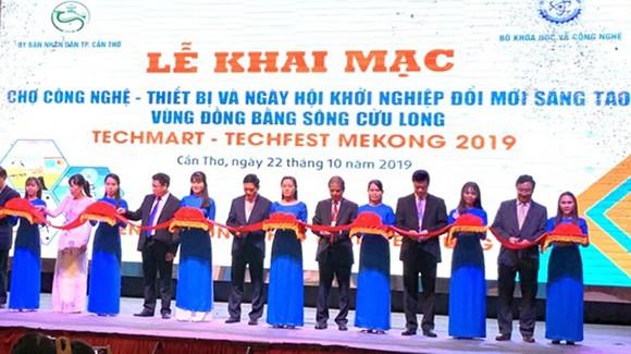 Khai mạc Techmart - Techfest Mekong 2019
