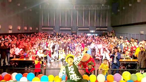 Chương trình Tết Việt Osaka 2019. Ảnh: Zero Group