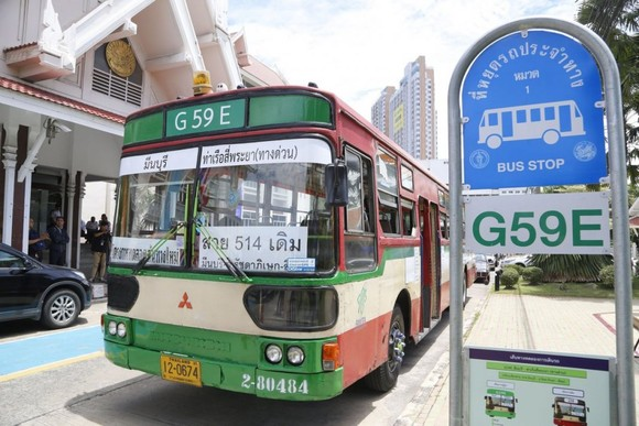 Xe buýt tại Thái Lan. Ảnh: BestPriceTravel