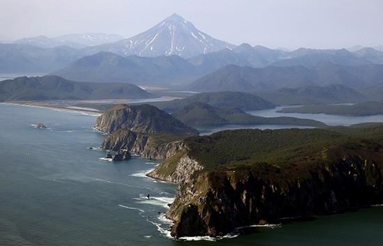 Quần đảo tranh chấp được Nhật Bản gọi là Vùng lãnh thổ phương Bắc, Nga gọi là Kuril. Ảnh: TASS