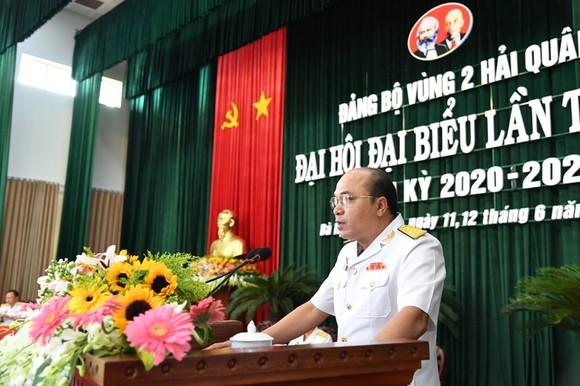 Khai mạc Đại hội đại biểu Đảng bộ Vùng 2 Hải quân lần thứ III nhiệm kỳ 2020 -2025 ảnh 2
