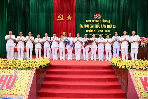 Đại hội đại biểu Đảng bộ Vùng 5 Hải quân lần thứ XII, nhiệm kỳ 2020-2025  ảnh 2