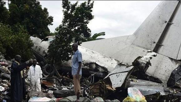 Rơi máy bay chở hàng tại Nam Sudan, ít nhất 17 người thiệt mạng. Ảnh: Ảnh: Seenews