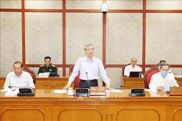 Bộ Chính trị làm việc với 11 đảng bộ trực thuộc Trung ương  ảnh 1