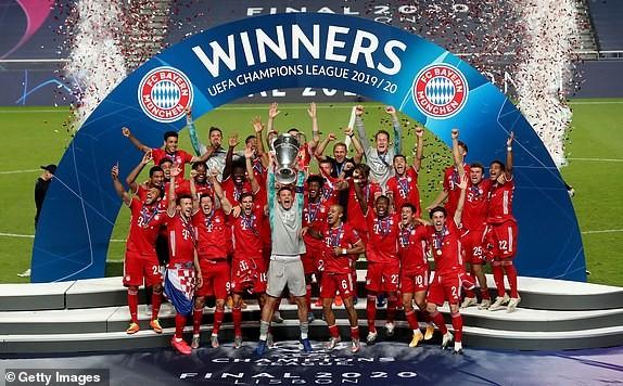 Bayern Munich xứng đáng đoạt chức vô địch Champions League 2020. Ảnh: Getty Images