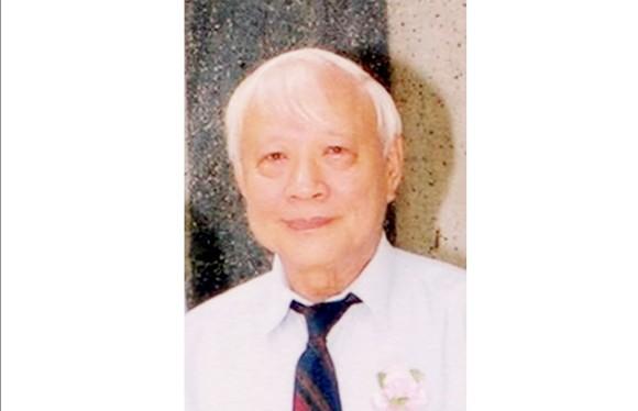 Giáo sư toán học Đặng Đình Áng