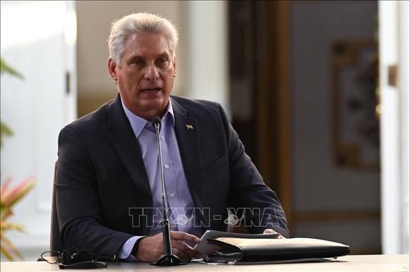 Chủ tịch Cuba Miguel Díaz-Canel Bermúdez