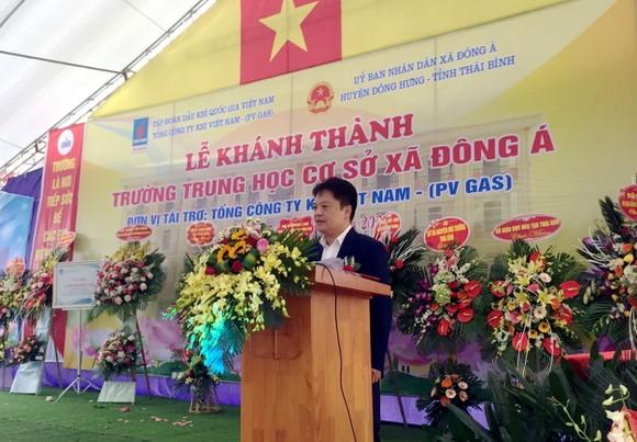 PV GAS tài trợ xây dựng Trường THCS Đông Á, Thái Bình ảnh 1
