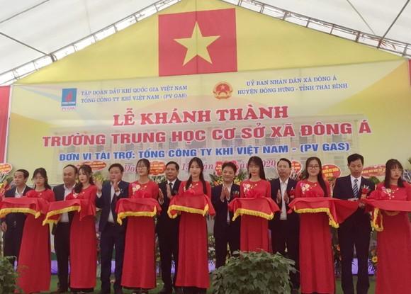 PV GAS tài trợ xây dựng Trường THCS Đông Á, Thái Bình ảnh 2