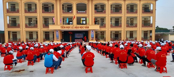 Ngôi trường mới – mái nhà giáo dục tươi đẹp của thầy trò Trường THCS Đông Á