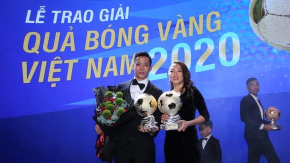 Văn Quyết, Huỳnh Như và Minh Trí đoạt Quả bóng Vàng Việt Nam 2020 ảnh 2