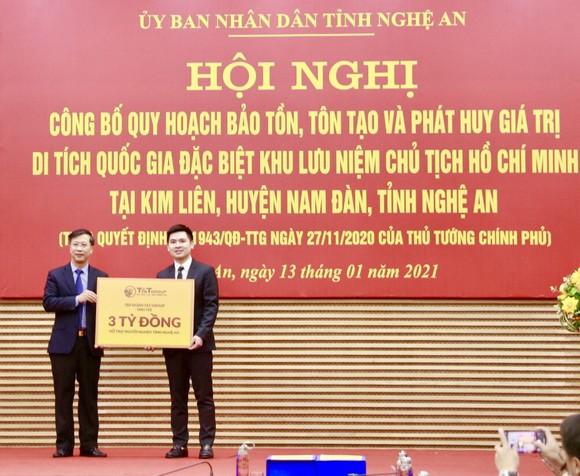 Công bố quy hoạch bảo tồn, tôn tạo và phát huy giá trị Khu lưu niệm Chủ tịch Hồ Chí Minh tại Nghệ An ảnh 3