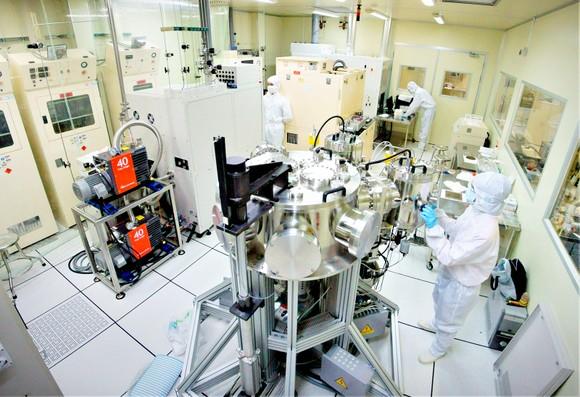 Phòng nghiên cứu công nghệ Nano hiện đại của ĐH Quốc gia TPHCM
