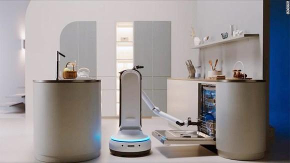 Robot giúp việc nhà của Samsung