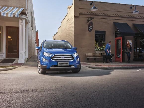 Ford EcoSport: Ngôn ngữ thiết kế thực dụng, mang đến trải nghiệm thân thiện với mọi gia đình ảnh 1